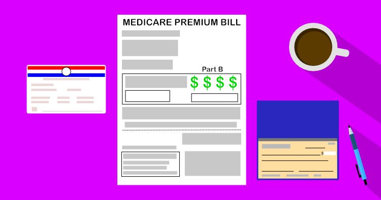 Medicare premium bill