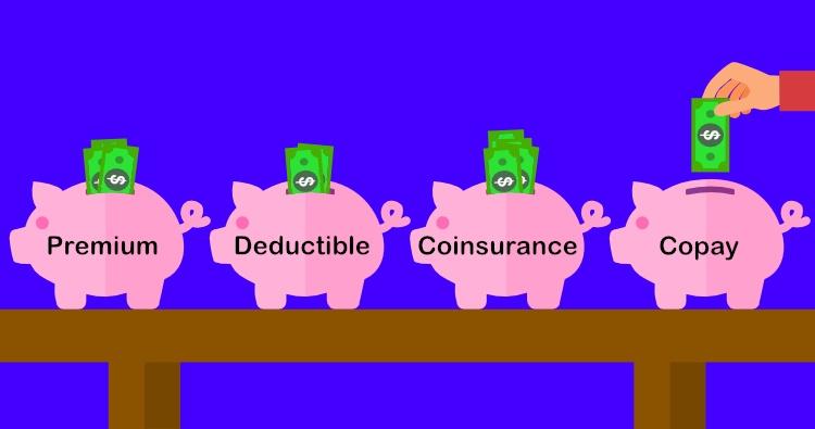 Premium, deductible, copay, coinsurance